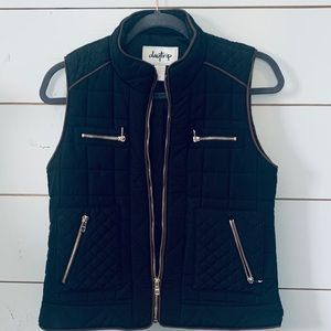 DAYTRIP VEST | Black and brown | size small |